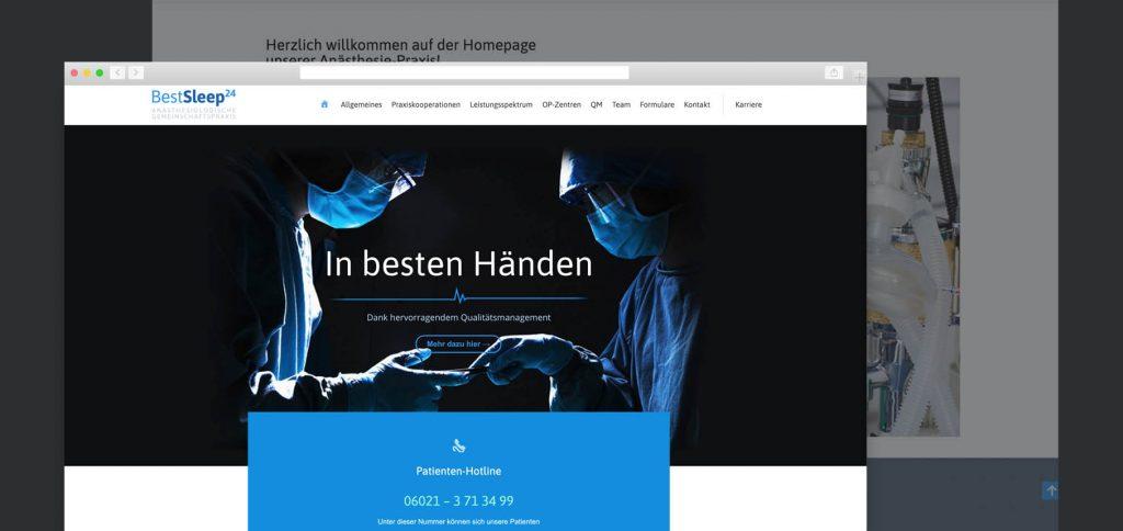 Webdesign – BestSleep24